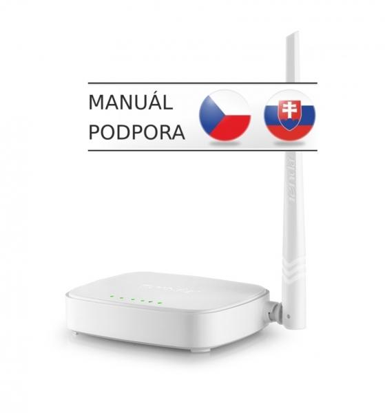 Tenda N150 WiFi-N Router,1x WAN,3x LAN,1x5dBi WISP N150
