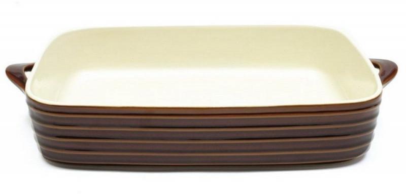 Maxwell & Williams obdelníková zapékací mísa Oven Chef, 31 x 23cm, hnědá