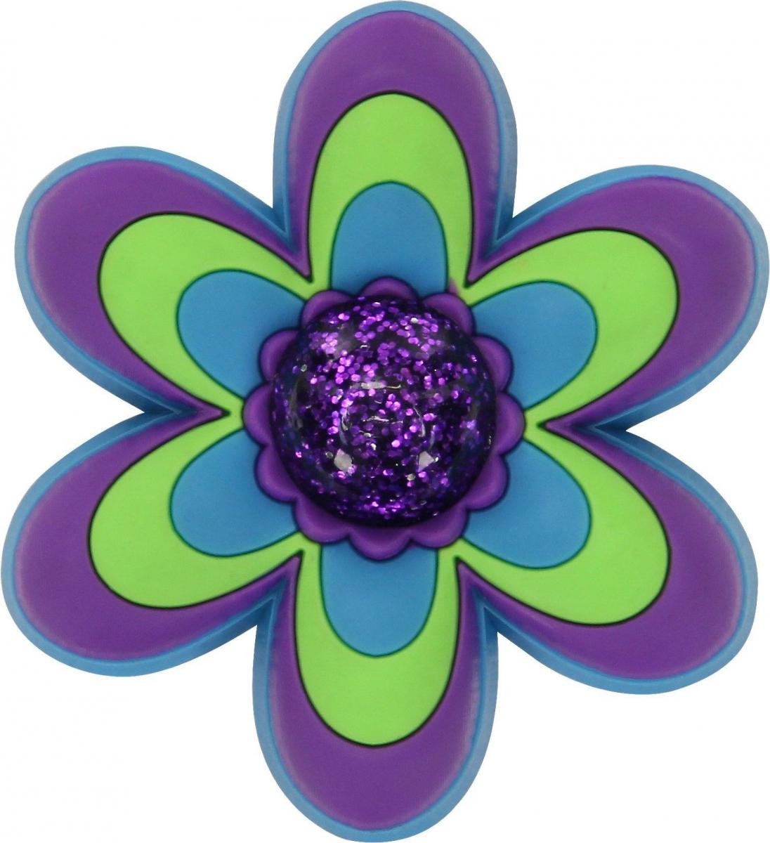 Crocs ozdoba Jibbitz CFW LG Purple Flower