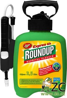 Roundup Expres 6h - 2,5 l rozprašovač