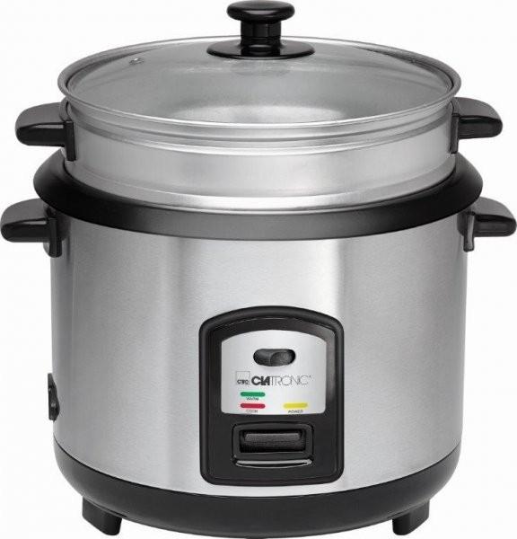 Rýžovar a parní hrnec Clatronic RK 3567 stříbrný