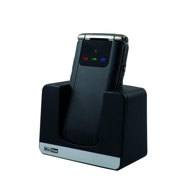 Mobilní telefon pro seniory MAXCOM MM822, černý MM822 black
