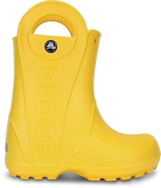 Crocs Handle It Rain Boot Kids - Yellow, C13 (30-31)