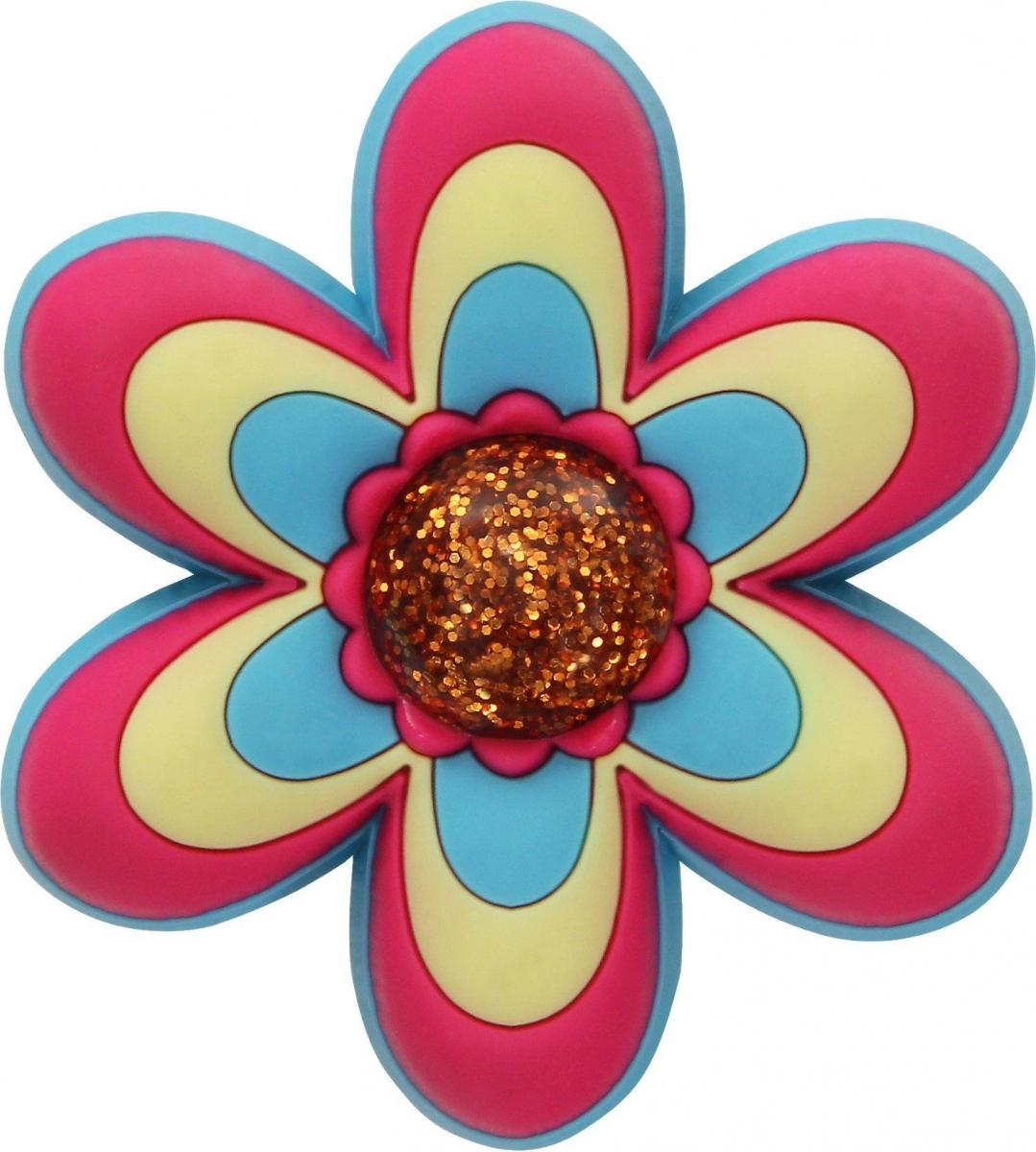 Crocs ozdoba Jibbitz CFW LG Pink Flower