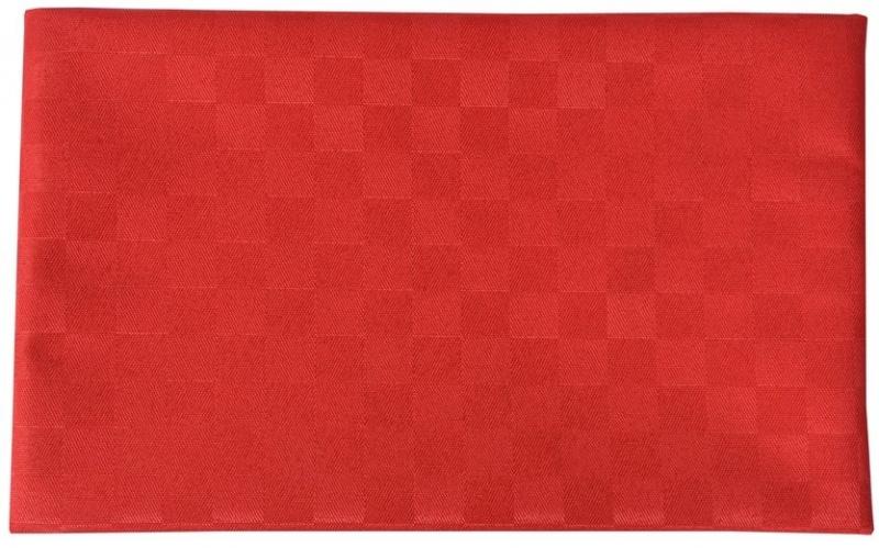 Ubrus Doppler 809 s impregnací proti špíně 140 x 50 cm - Červená 809