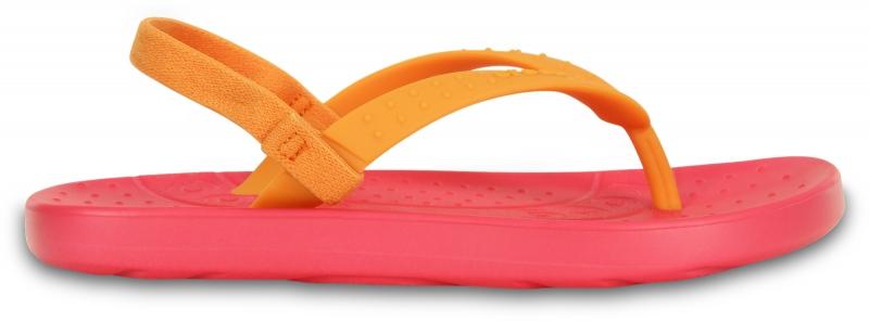 Crocs Chawaii Kids Flip - Poppy/Mango, C10/C11 (27-28)