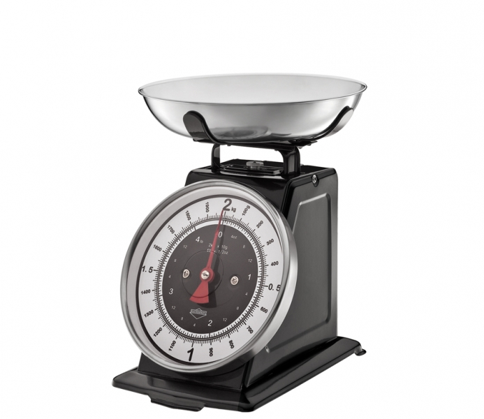 Küchenprofi kuchyňská Retro váha NOSTALGIE, černá