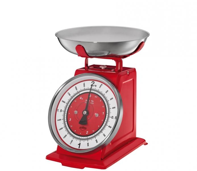 Küchenprofi kuchyňská Retro váha NOSTALGIE, - červená