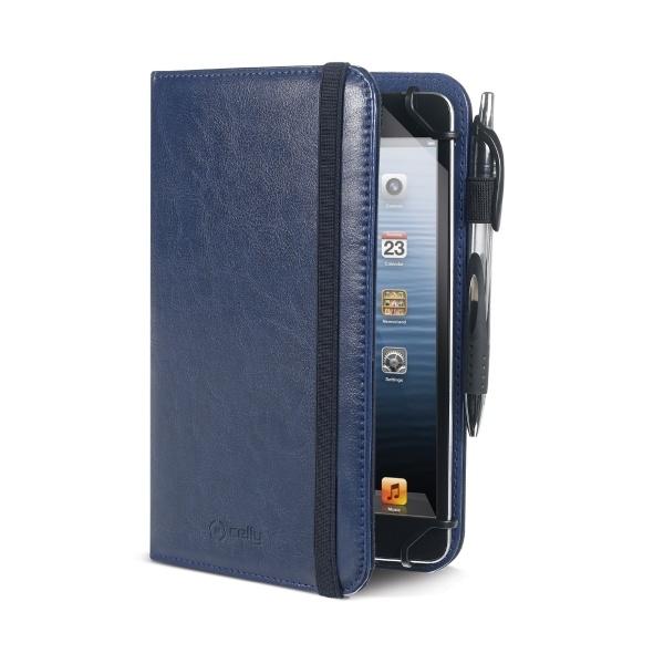"""Pouzdro typu kniha Celly Smarty pro 7"""" - 8"""" tablety, modré SMARTY78BL"""