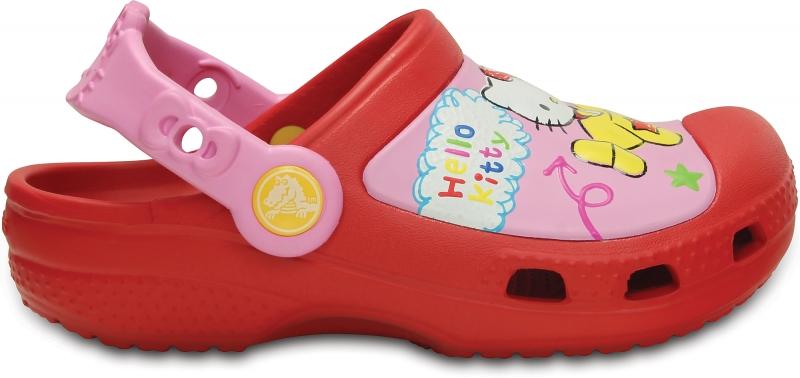 Creative Crocs Hello Kitty Plane Clog - Red, C6/C7 (23-24)