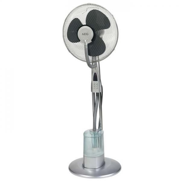 Stojanový ventilátor AEG VL 5569 LB se zvlhčovačem vzduchu
