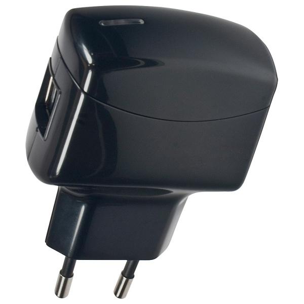 Cestovní nabíječka Fontastic s 2xUSB konektorem, 2A, box LGUNTUSB2AB-7