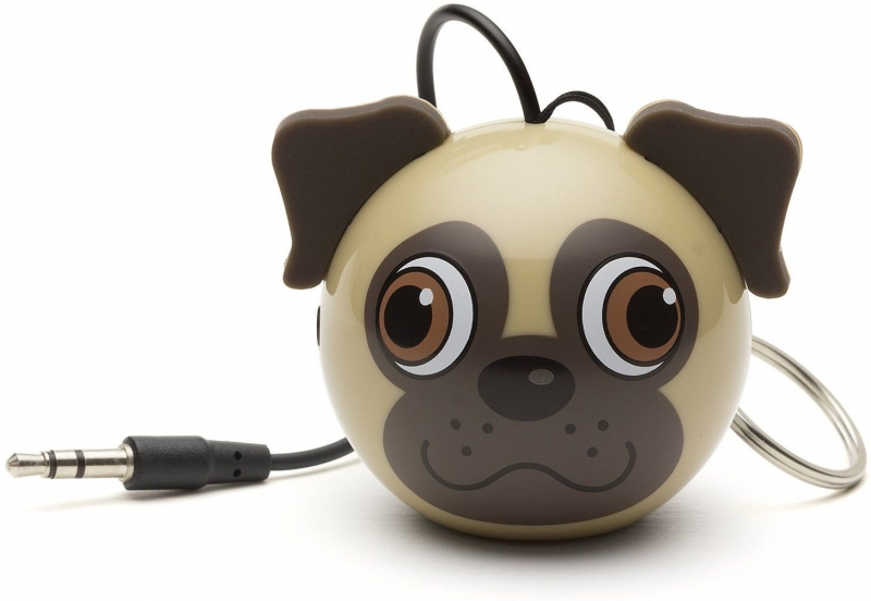 Reproduktor KITSOUND Mini Buddy Mops, 3,5 mm jack KSNMBPUG