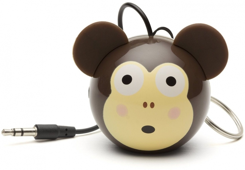 Reproduktor KITSOUND Mini Buddy Monkey, 3,5 mm jack KSNMBMKY