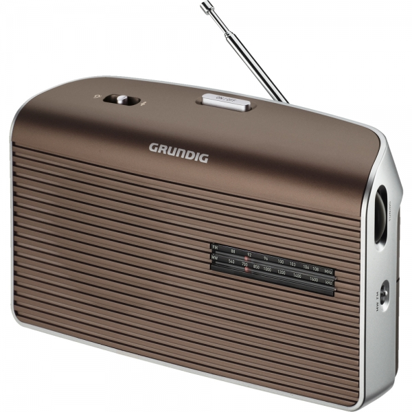 Radiopřijímač GRUNDIG MUSIC 60 - brown