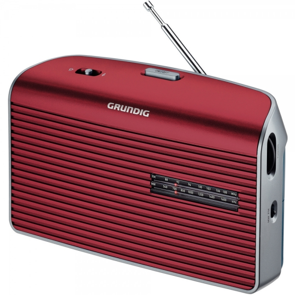Radiopřijímač GRUNDIG MUSIC 60 - red