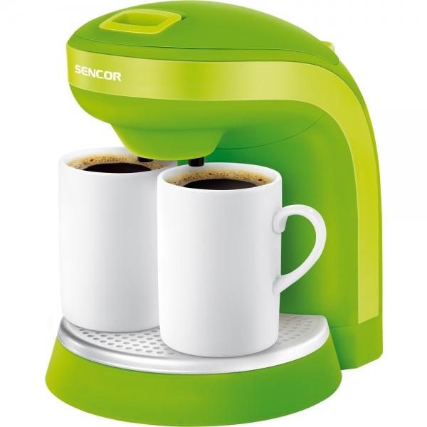 Kávovar SENCOR SCE 2002 + dva hrníčky green
