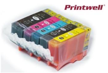 Barevné inkoustové kazety Nej-print CMYK Pack kompatibilní s Canon CLI-521 + PGi-520 - Alternativní 9990000214792