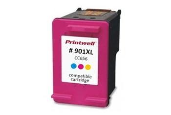 Tříbarevná inkoustová kazeta Nej-print kompatibilní s HP 901 (HP901, HP-901, CC656) - Alternativní 8594030126837