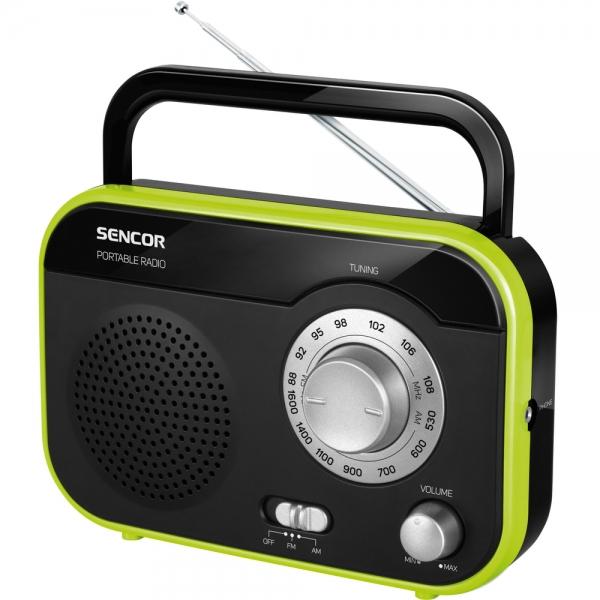 Rádio Sencor SRD 210 BGN - černo-zelené