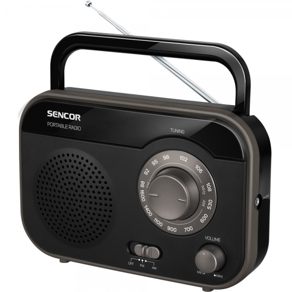 Rádio Sencor SRD 210 B - černo-černé
