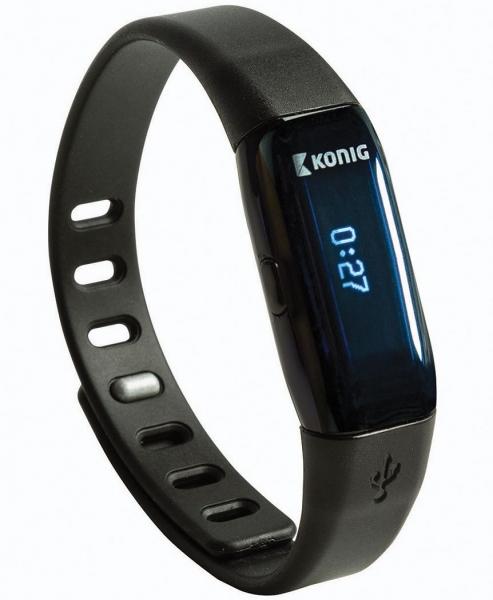 Bluetooth fitness náramek König KN-ACTBL10B