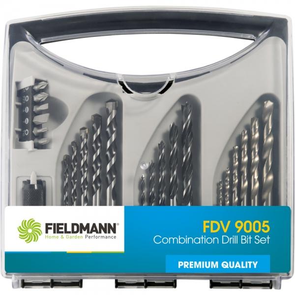 Sada vrtáku s bity Fieldmann FDV 9005, 23 ks