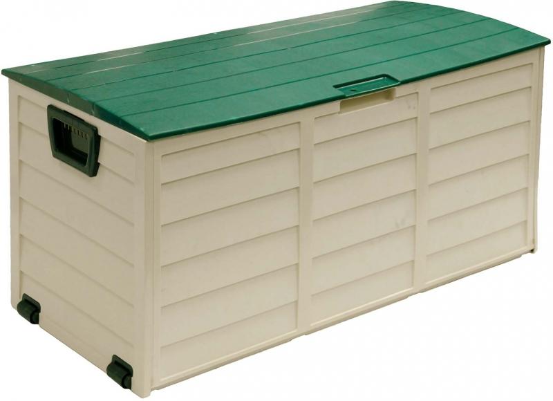 Úložný zahradní box na potahy Fieldmann FDD 1002G s kolečky