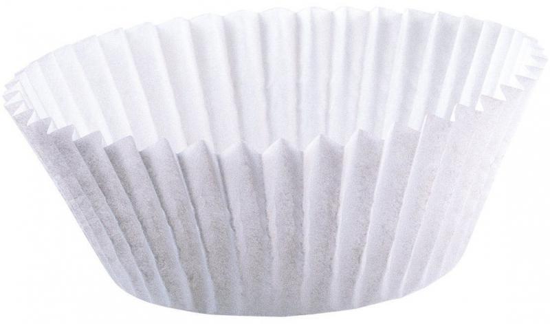 Kaiser papírové košíčky na mini muffiny, bílé, 200 ks