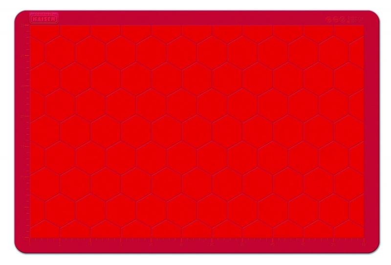 Kaiser silikonový vál RED, 60 x 40 cm