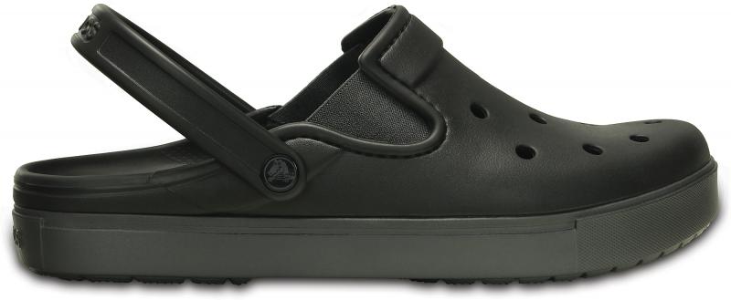 Crocs CitiLane Clog - Black/Graphite, M5/W7 (37-38)