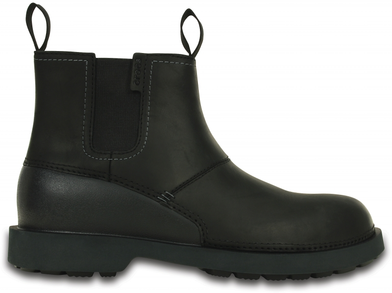 Crocs Men's Breck Boot - Black, M10/W12 (43-44)