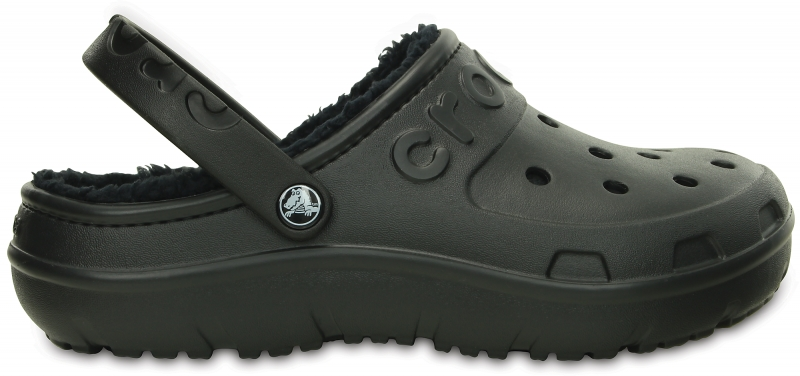 Crocs Hilo Lined Clog Black, M10/W12 (43-44)