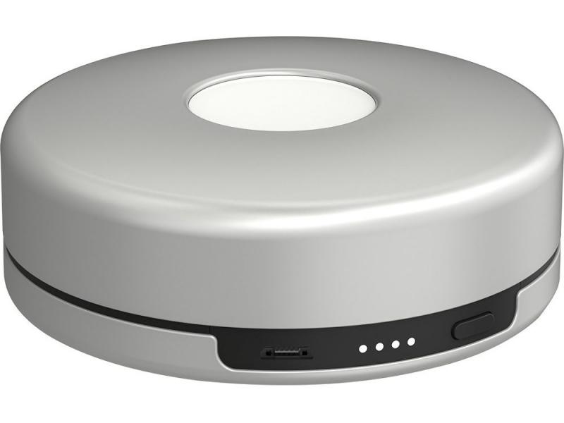 Bezdrátová dobíjecí stanice Nomad Pod pro Apple Watch - Stříbrný, Stříbrný