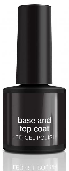 Podkladový a povrchový gel / lak na gelové nehty RIO Ledc Coat 5019487091277