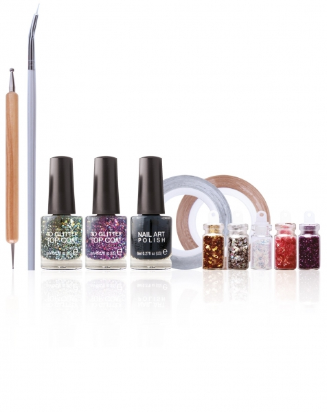 RIO Nail Art Shimmer and Sparkle 5019487084996