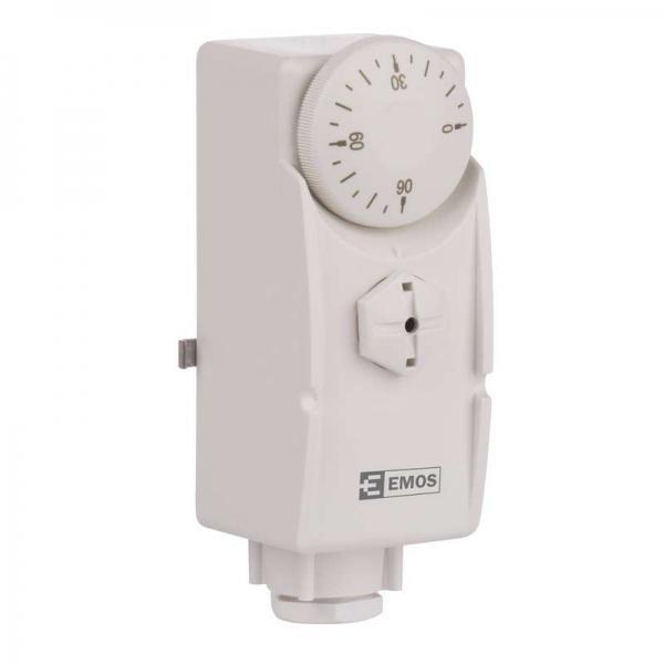 Příložný termostat EMOS T80