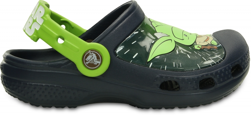 Crocs Star Wars Yoda Clog Kids - Navy, J1 (32-33)