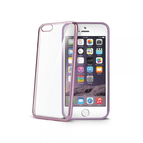Zadní kryt Celly Laser pro Apple iPhone 6/6S - Fuchsiový BCLIP6SFX