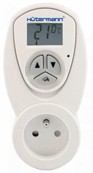 TZ63 zásuvkový elektronický termostat např. pro koupelnový radiátor (do zásuvky)