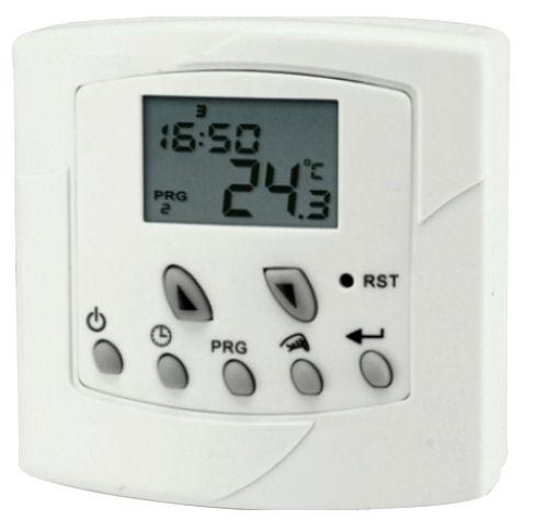 Programovatelný týdenní termostat Hutermann 1038 pokojový prostorový