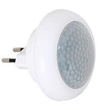 LED orientační (noční) svítidlo do zásuvky s pohybovým čidlem lampička LED80