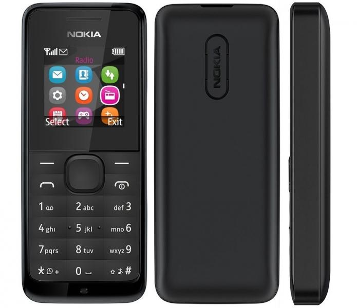 Nokia 105 (2015) Black A00025876