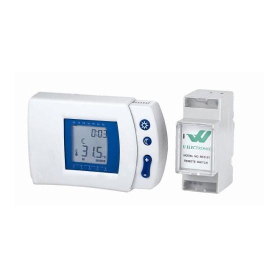 Bezdrátový pokojový termostat RF-510T, programovatelný