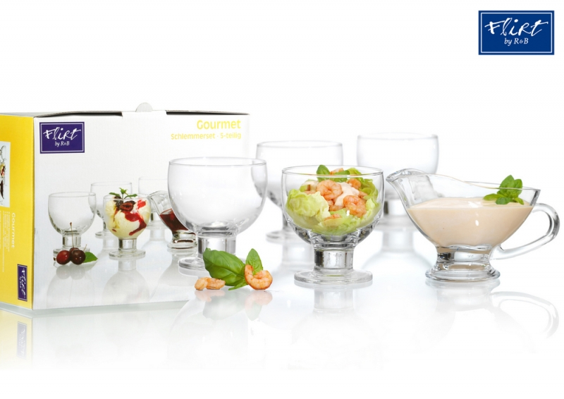 Ritzenhoff & Breker sada dezertních misek Gourmet, 5 ks