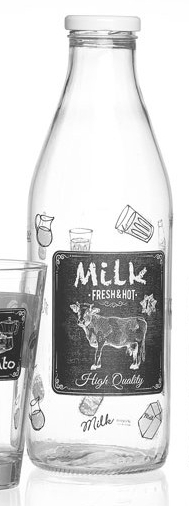 Ritzenhoff & Breker lahev na mléko Latteria, 1 litr