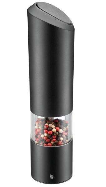 WMF elektrický mlýnek na pepř/sůl - Černý