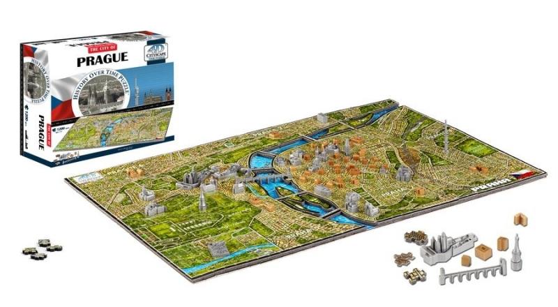 4D City Puzzle - Praha