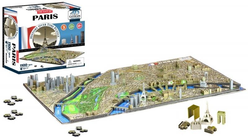 4D City Puzzle - Paříž