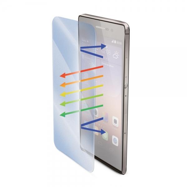 Ochranné tvrzené sklo Celly Glass pro Huawei P8 Lite s ANTI-BLUE-RAY vrstvou GLASS507